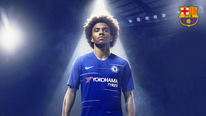 Barcelona terus incar Willian