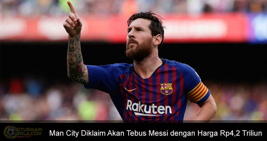 Manchester City Berniat Datangkan Messi