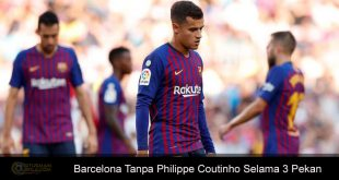 Philippe Coutinho Absen Perkuat Barcelona