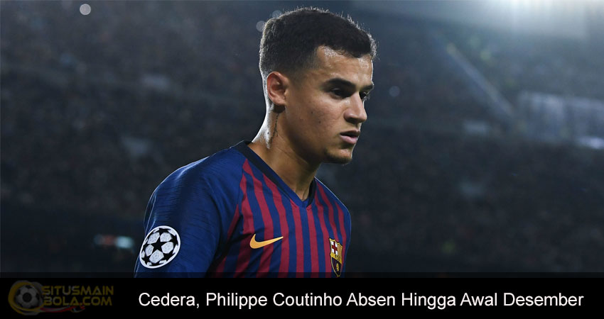 Philippe Coutinho Dipastikan Absen