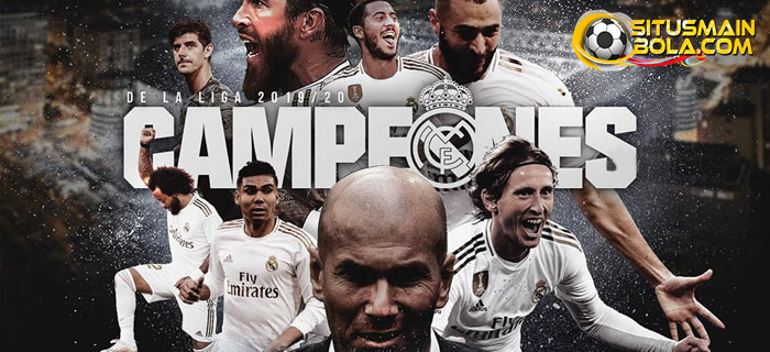 Real Madrid Juara La Liga 2019/20