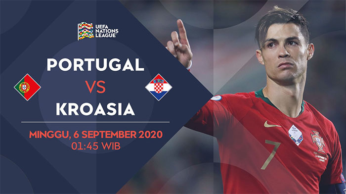 Prediksi Portugal vs Kroasia 6 September 2020 di Estadio do Dragao