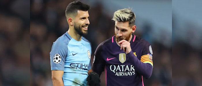 Akankah Aguero Bergabung Dengan Barcelona Setelah di Undang Messi