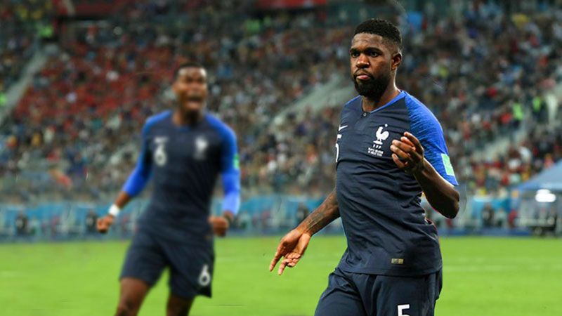Gol Umtiti Bawa Prancis Tembus ke Partai Final Piala Dunia 2018