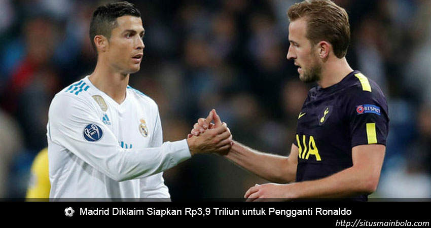 Madrid Siapkan Dana Besar Untuk Mencari Pengganti Ronaldo