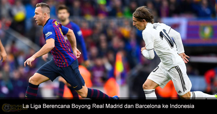 Real Madrid dan Barcelona