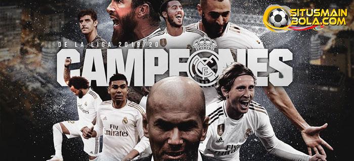 Real Madrid Juara La Liga 2019/20
