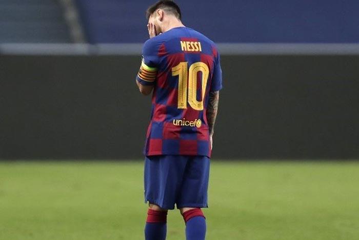 Barcelona di Hajar Bayern Munchen, Lionel Messi Di Kritik Habis