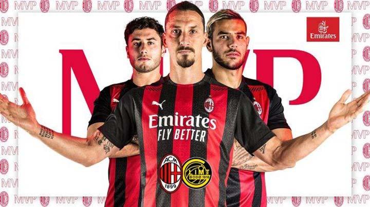 Prediksi AC Milan vs Bodoe 25 September 2020 di San Siro