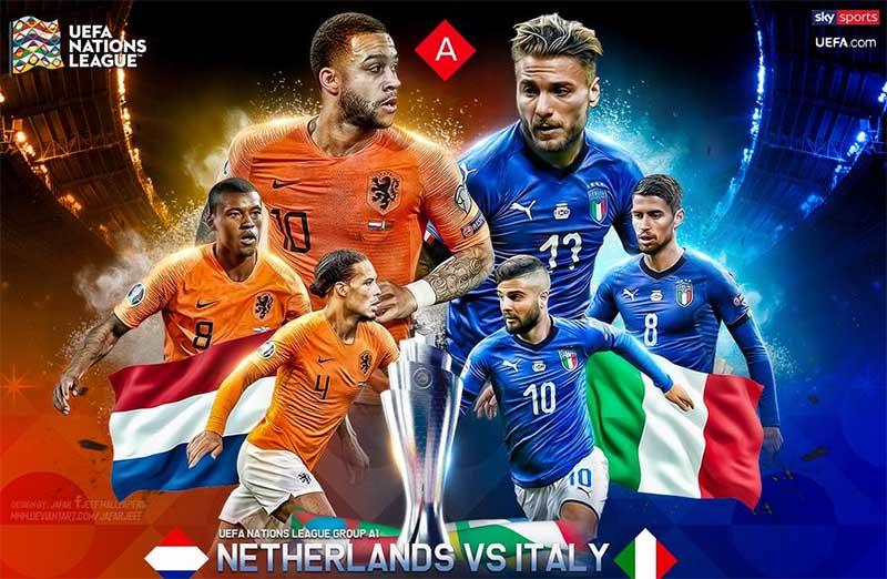 Prediksi Belanda vs Italia 8 September 2020 di Johan Cruyff Arena