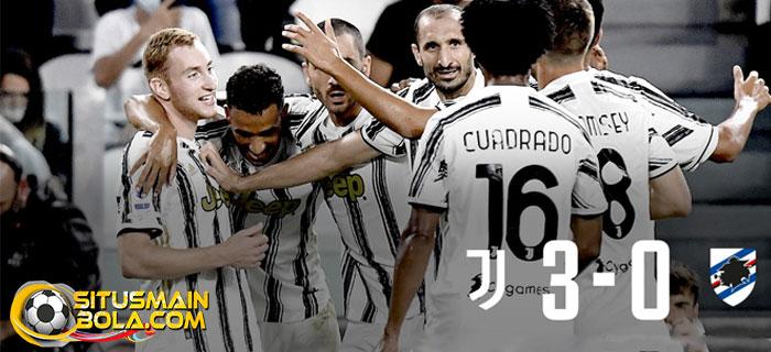 Juventus Menang Telak Atas Sampdoria