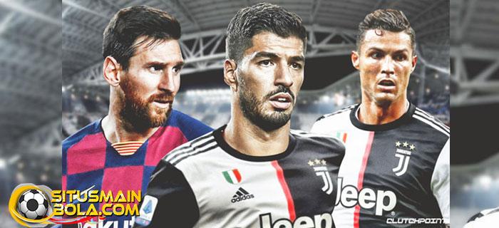 Luis Suarez Dari Layani Messi
