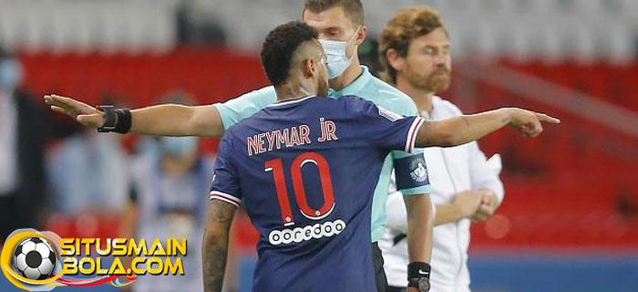 Neymar Menyesal Belum Pukul Wajah Bek Marseille
