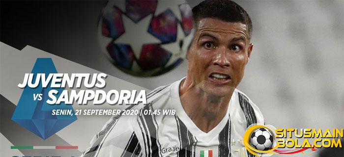 Prediksi Juventus vs Sampdoria 21 September 2020