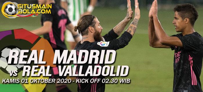 Prediksi Real Madrid vs Real Valladolid 1 Oktober 2020