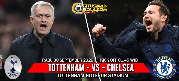 Prediksi Tottenham vs Chelsea 30 September 2020