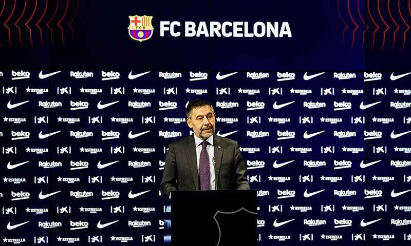 Tudingan Presiden La Liga pada Barcelona, Bartomeu Dikontrol Madrid
