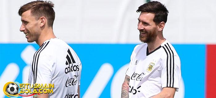 Messi Diklaim Lebih Bahagia Di Argentina