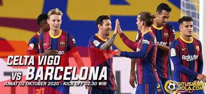 Prediksi Celta Vigo vs Barcelona 2 Oktober 2020