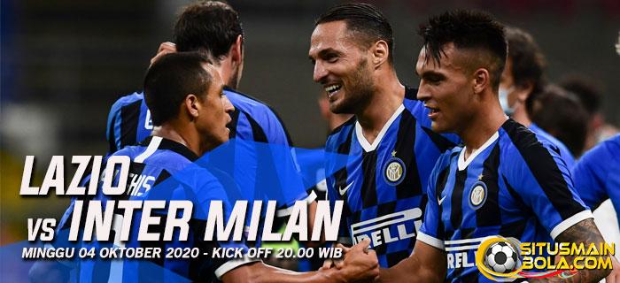 Prediksi Lazio vs Inter Milan 4 Oktober 2020