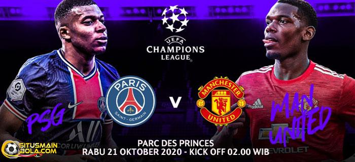 Prediksi PSG vs Manchester United 21 Oktober 2020