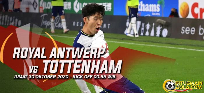 Prediksi Royal Antwerp vs Tottenham 30 Oktober 2020