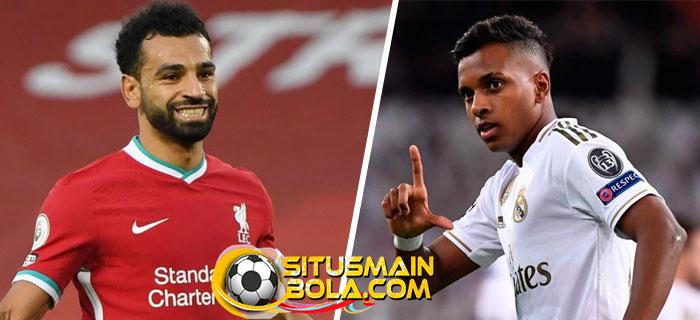 Jurgen Klopp Bidik Rodrygo Pengganti Mohamed Salah