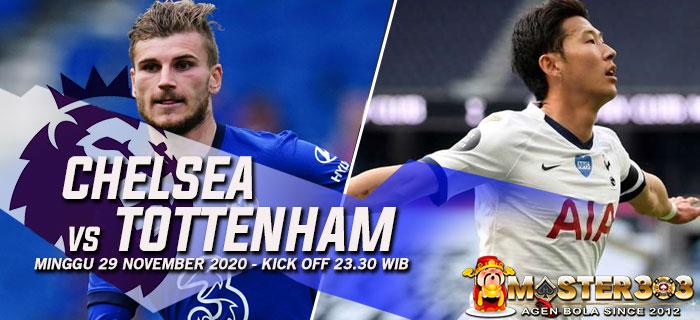 Prediksi Chelsea vs Tottenham 29 November 2020