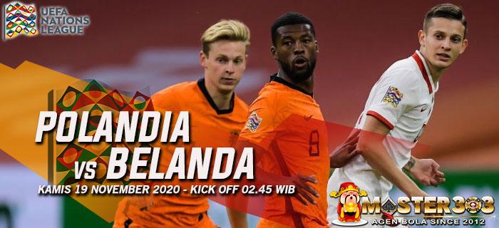 Prediksi Polandia vs Belanda 19 November 2020