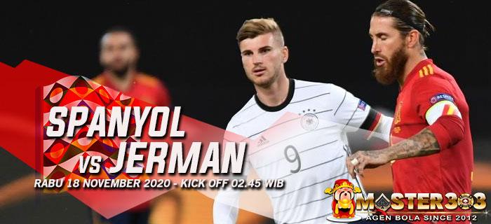 Prediksi Spanyol vs Jerman 18 November 2020