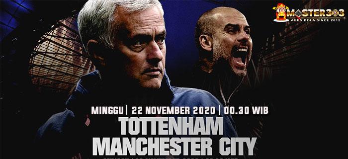 Prediksi Tottenham vs Manchester City 22 November 2020