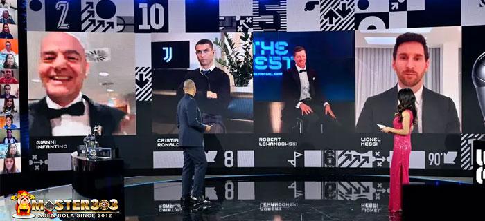 Lewandowski Pemain Terbaik Dunia