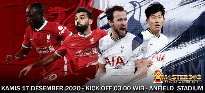 Prediksi Liverpool vs Tottenham 17 Desember 2020